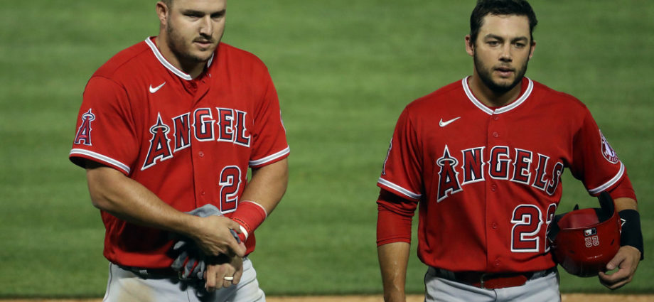 Mike Trout, Anthony Rendon, Los Angeles Angels